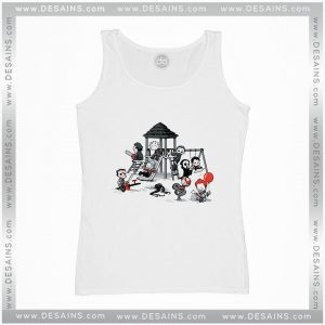Buy Cheap Graphic Tank Top Horror Park IT Movie Size S-3XL
