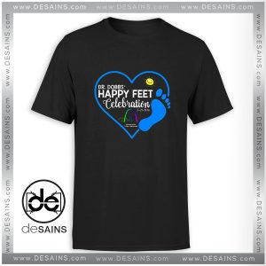 Cheap Graphic Tee Shirt Dr Dobbs Happy Feet Celebration Size S-3XL