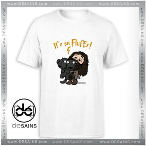 Cheap Graphic Tee Shirt Its So Fluffy Harry Potter Size S-3XL