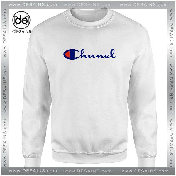 Cheap Sweatshirt Champion Sportswear Parody Chanel Size S-3XL