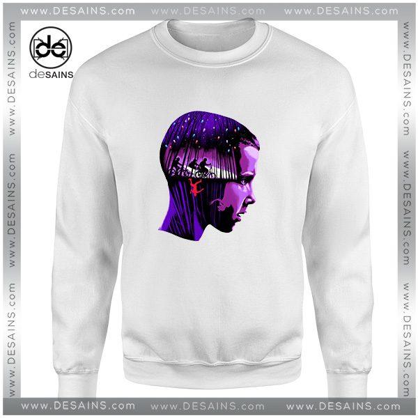 Best Cheap Sweatshirt Eleven Stranger Things Crewneck Size S-3XL
