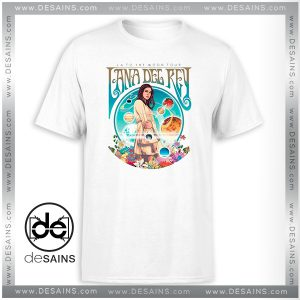 Best Tee Shirt LA to the Moon Tour Lana Del Rey Tshirt