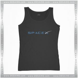 Buy Cheap Graphic Tank Top Space X Elon Musk Logo Size S-3XL