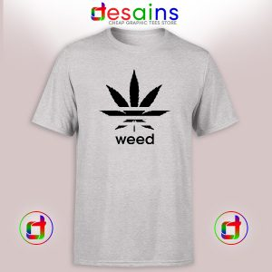 Buy Cheap Graphic Tee Shirt Weed Parody Adidas Logo Size S-3XL
