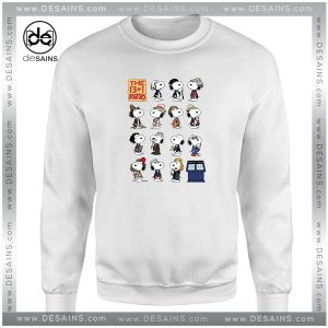 Buy Cheap Sweatshirt Doctor Who Snoopy Crewneck Size S-3XL