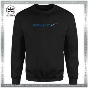 Buy Cheap Sweatshirt Space X Elon Musk Logo Crewneck Size S-3XL