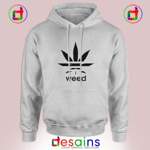 Cheap Graphic Hoodie Weed Plant Parody Adidas Logo Size S-3XL