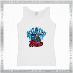 Cheap Graphic Tank Top Universe 10th Edition Dr Who Doctor Pilgrim