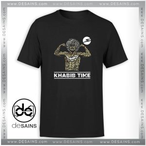 Cheap Graphic Tee Shirt Khabib Time Next fight UFC