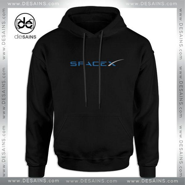 Cheap Hoodie Space X Elon Musk Logo Adult Unisex Size S-3XL