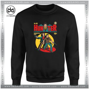 Cheap Sweatshirt Supernatural Tale Comic Hunter Crewneck Size S-3XL