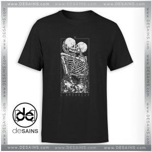 Cheap Tee Shirt LAmoureux The Lovers Skull Skeleton Size S-3XL