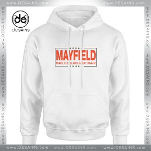 Hoodie Baker Mayfield Make Cleveland Great Again Size S-3XL