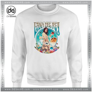 Sweatshirt LA to the Moon Tour Lana Del Rey Crewneck