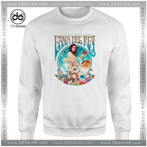 Sweatshirt LA to the Moon Tour Lana Del Rey Crewneck