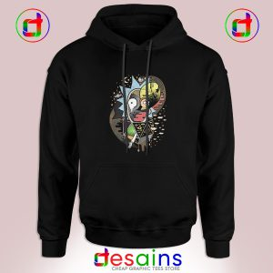 Best Cheap Graphic Hoodie Rick And Morty Polarity Size S-3XL