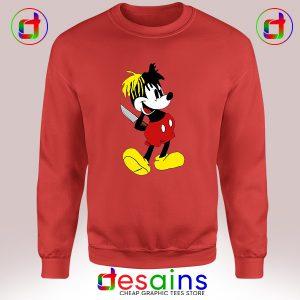 Best Cheap Sweatshirt XXXTentacion Mickey Mouse Crewneck S-3XL