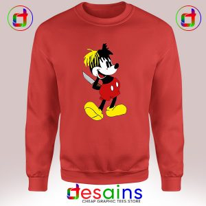Best Cheap Sweatshirt XXXTentacion Mickey Mouse Crewneck S-3XL