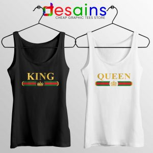 Best Couple Tank Top King Queen Gucci Couple Tank Tops Size S-3XL