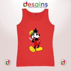 Buy Cheap Graphic Tank Top XXXTentacion Mickey Mouse Size S-3XL