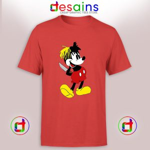 Buy Cheap Graphic Tee Shirt XXXTentacion Mickey Mouse Size S-3XL