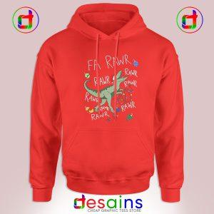 Buy Graphic Hoodie Dinosaur Christmas Fa Rawr Rawr T-Rex Size S-3XL