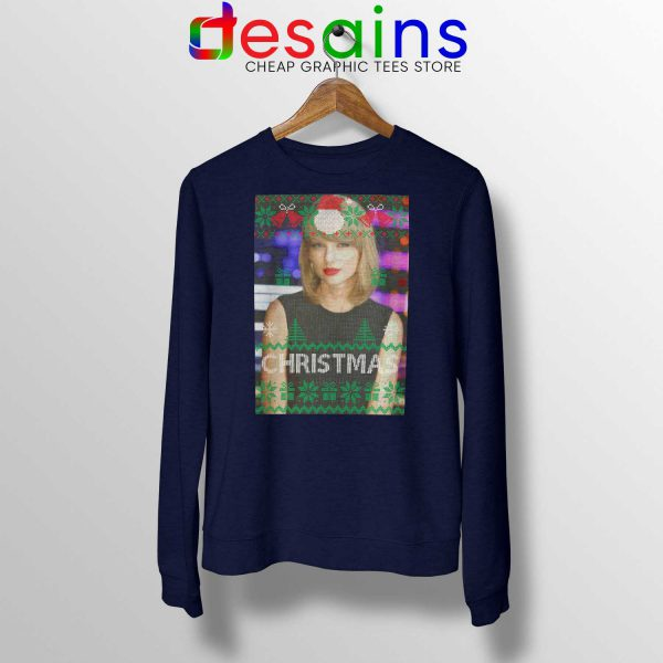 Buy Sweatshirt Taylor Swift Smile Christmas Crewneck Sweater S-3XL