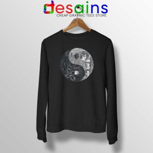 Buy Sweatshirt Upside Down Yin and Yang Stranger Things Crewneck