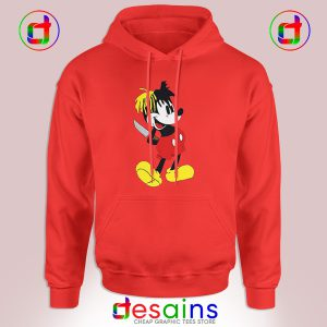 Cheap Graphic Hoodie XXXTentacion Mickey Mouse Size S-3XL