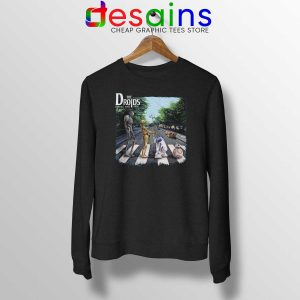 Cheap Sweatshirt Droids Star Wars Abbey Road Crewneck Sweater S-3XL