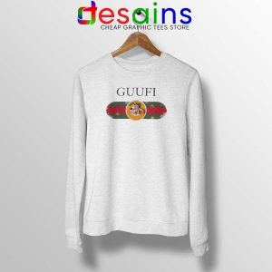 Cheap Sweatshirt Funny Guufi Gucci Goofy Crewneck Sweater Size S-3XL