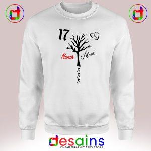 Cheap Sweatshirt XXXTentacion Numb Alone Crewneck Size S-3XL