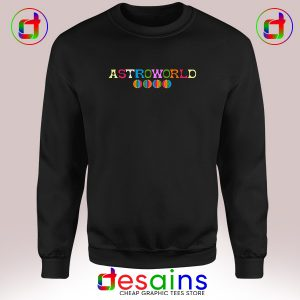 Sweatshirt Astroworld Travis Scott Album Cheap Crewneck Size S-3XL