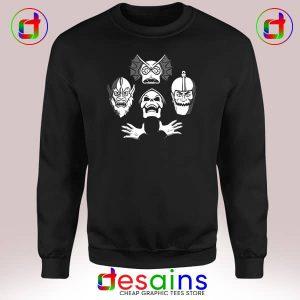Sweatshirt Bo He Man ian Rhapsody Skeletor Masters Of The Universe
