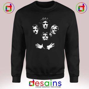 Sweatshirt Bohemian Rhapsody Poster Queen Cheap Crewneck Size 3XL