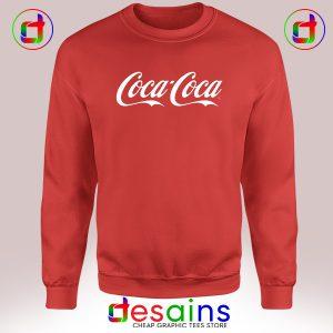 Sweatshirt Coca Coca Same Sex Happiness Coca-Cola Crewneck Size S-3XL