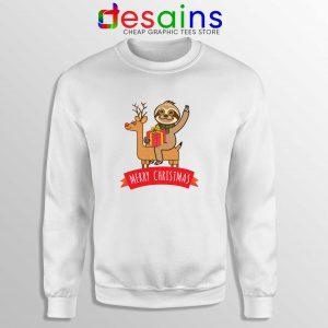 Sweatshirt cute sloth christmas gifts Buy Cheap Crewneck S-3XL