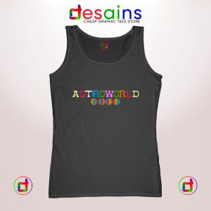Tank Top Astroworld Travis Scott Album Graphic Tank Tops Size S-3XL
