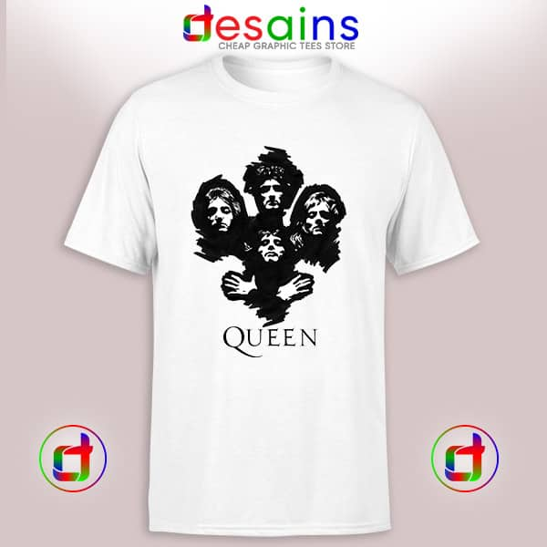 Tshirt Queen Band Poster Clothing Merch Cheap Graphic Tee Shirts S-3XL