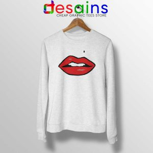 Cheap Sweatshirt with Sexy Lips on it Crewneck Size S-3XL