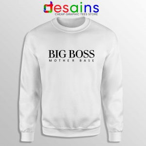 Sweatshirt Big Boss Mother Base Hugo Boss Parody Size S-3XL