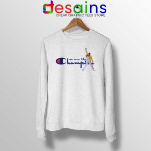 Sweatshirt Fredy Mercury We are the Champion Crewneck Size S-3XL