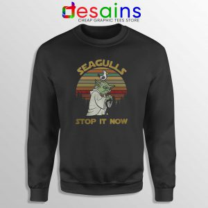 Sweatshirt Seagulls Stop it Now Star Wars Merch Size S-3XL