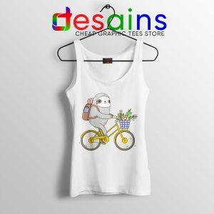 Buy Biking Sloth Cheap Tank Top Size S-3XL