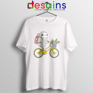 Buy Biking Sloth Tee Shirts Real Life Sloth Tshirt Size S-3XL
