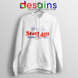 Buy Hoodie Statham Tours Los Angeles Size S-3XL