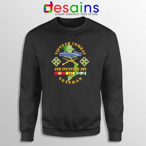 Cheap Sweatshirt Vietnam Combat Infantry Veterans Day Size S-3XL