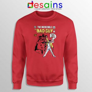 Freddie Mercury Queen Sweatshirt Mr Bad Guy Size S-3XL