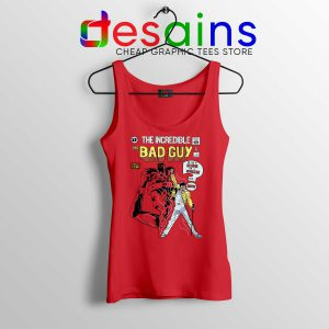 Freddie Mercury Queen Tank Top Mr Bad Guy Size S-3XL