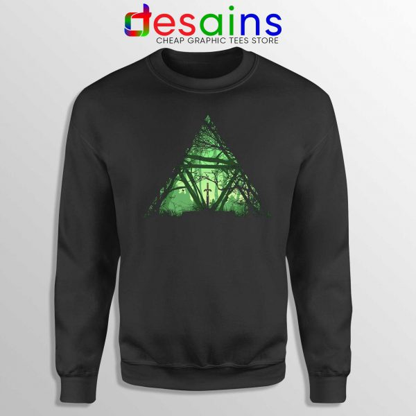 The Triforce Zelda Sweatshirt Crewneck Size S-3XL